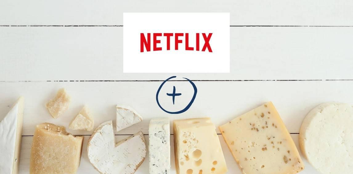 Netflix cheese platter