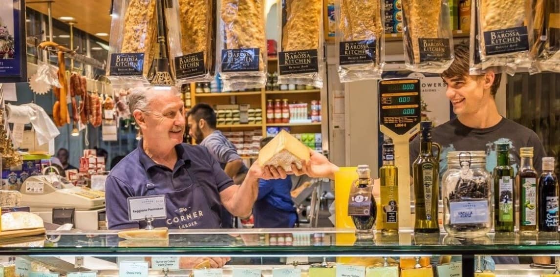 The Corner Larder cheese shop
