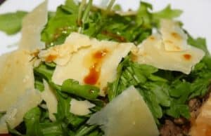 Parmesan cheese salad